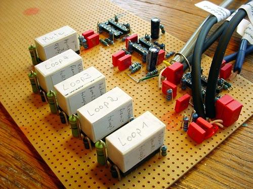 Oliver's midi switch and Ultra Rack (midi board)