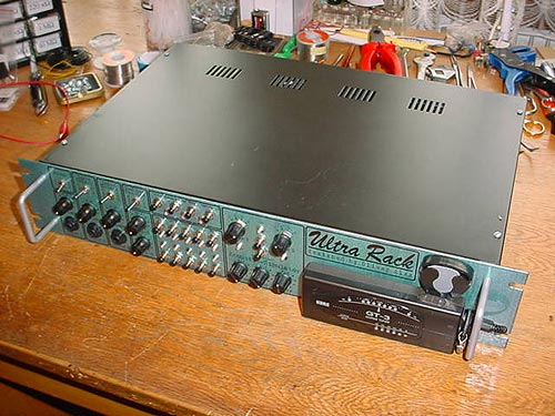 Oliver's midi switch and Ultra Rack