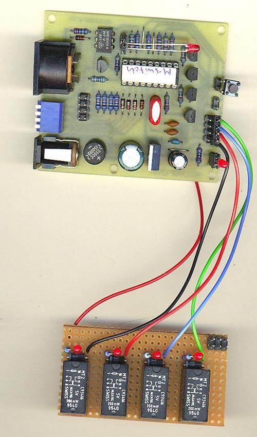 Uwe's midi switch prototype